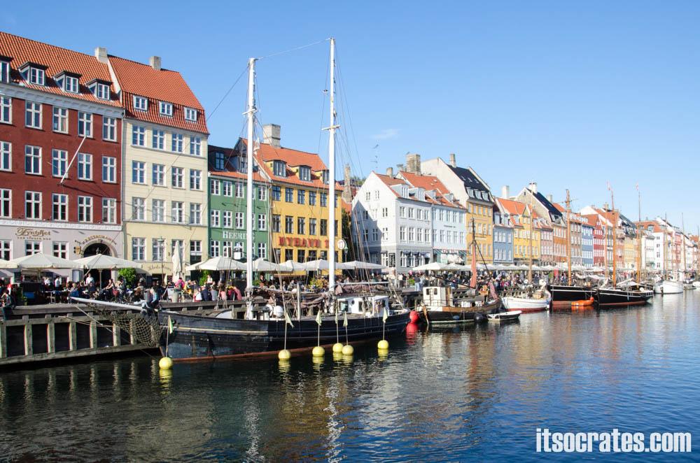 Достопримечательности Копенгагена, Дания - Новая гавань (Nyhavn)