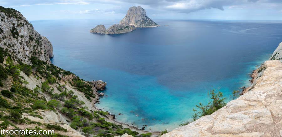 Остров Ибица - вид на остров Верда