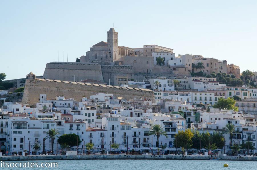 Остров Ибица - старая крепость