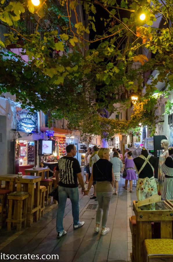 Остров Ибица прогулка по старому городу