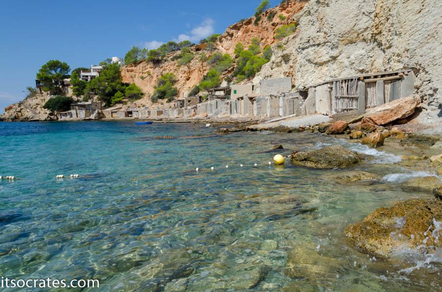 Пляж на острове Ибица